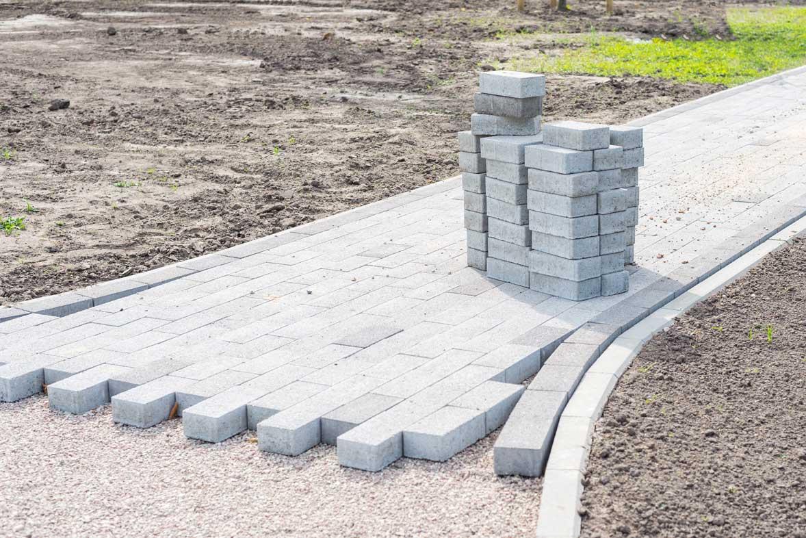 brick pavement extension